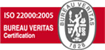 ISO 22000 BUREAU VERITAS Certification Mark